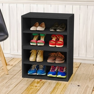 Firenze Modular Storage System Shoe Rack Bookcase Shelving LIFETIME WARRANTY (made from sustainable non-toxic zBoard paperboard)