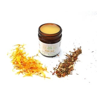 Herbal 1.8 oz. Salve with St. John's Worts, Plantain, Calendula, Chickweed, and Natural Healing Herbs