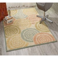 Nourison Aristo Light Multicolor Rug - 9'3 x 12'9
