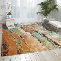 Nourison Prismatic Multicolor Area Rug - 9'9 x 13'9