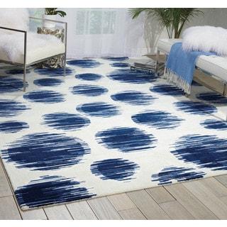 Nourison Twilight Ivory/Blue Area Rug (12' x 15')