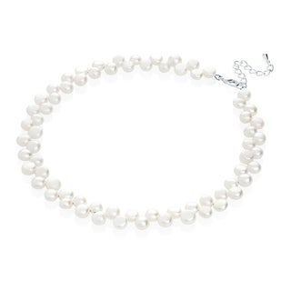 Adorable White Freshwater Pearls Beaded Baby or Child Necklace (5 options available)
