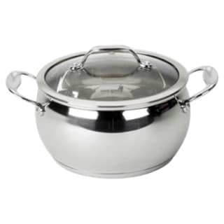 David Burke Gourmet Pro Splendor Stainless Steel 2-quart Sauce Pot with Lid