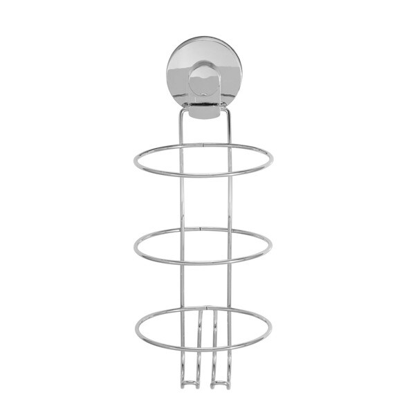 Everloc Xpressions Stainless Steel Wall Mount Hair Dryer Holder