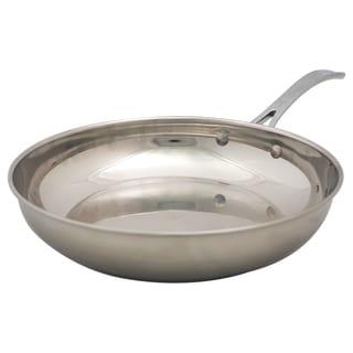 David Burke Splendor Series Heavy Gauge Stainless Steel 9.5 inch Fry Pan