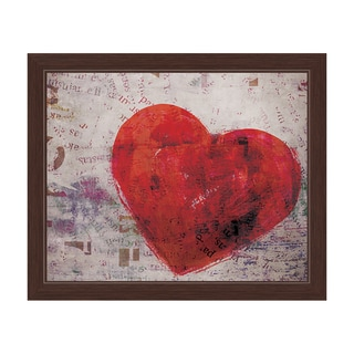 Warm Heart Framed Canvas Wall Art