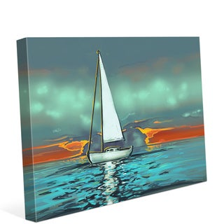 Red Skies at Night Wall Art on Canvas