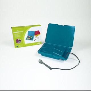 ZoomSNACK Bento Style Turquoise Snack Box