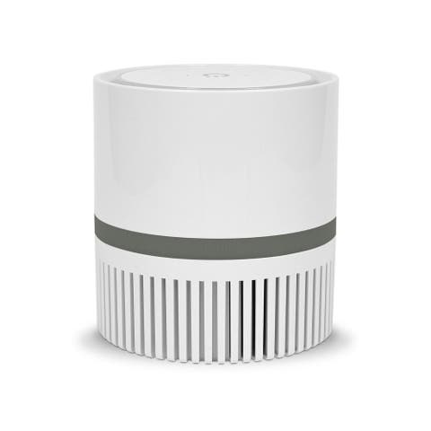 Envion 90TP100CD01-W Therapure Compact 360 Grey HEPA Filter Air Purifier
