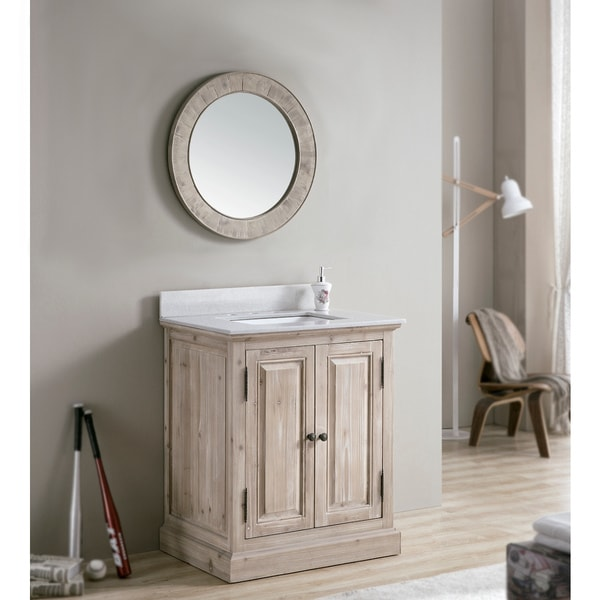 31 inch bathroom vanity with sink shop rustic 31 inch quartz marble top single sink bathroom 24762