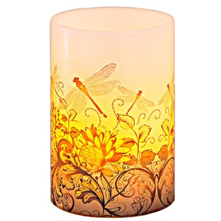 Talking Parrots 6-inch High LED Flameless Candle