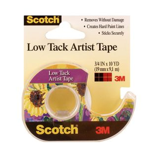 Scotch Low Tack Artist Tape [Pack of 6]