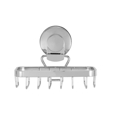 Everloc Endure Stainless Steel Suction Cup Soap Holder