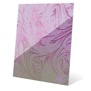 Undefined Ode in Pink and Green Wall Art on Acrylic