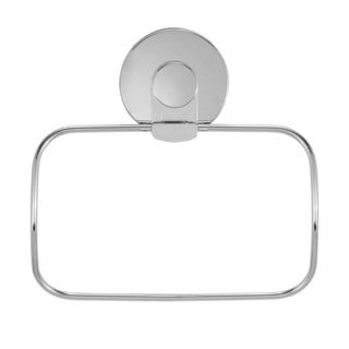 Everloc Xpressions Stainless Steel Suction Cup Towel Ring