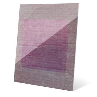 Passion Tinted Square Wall Art on Glass