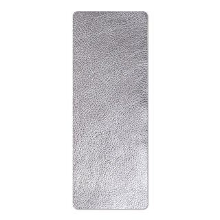 Sizzix Silver Cowhide Leather 3-inch x 9-inch Strip