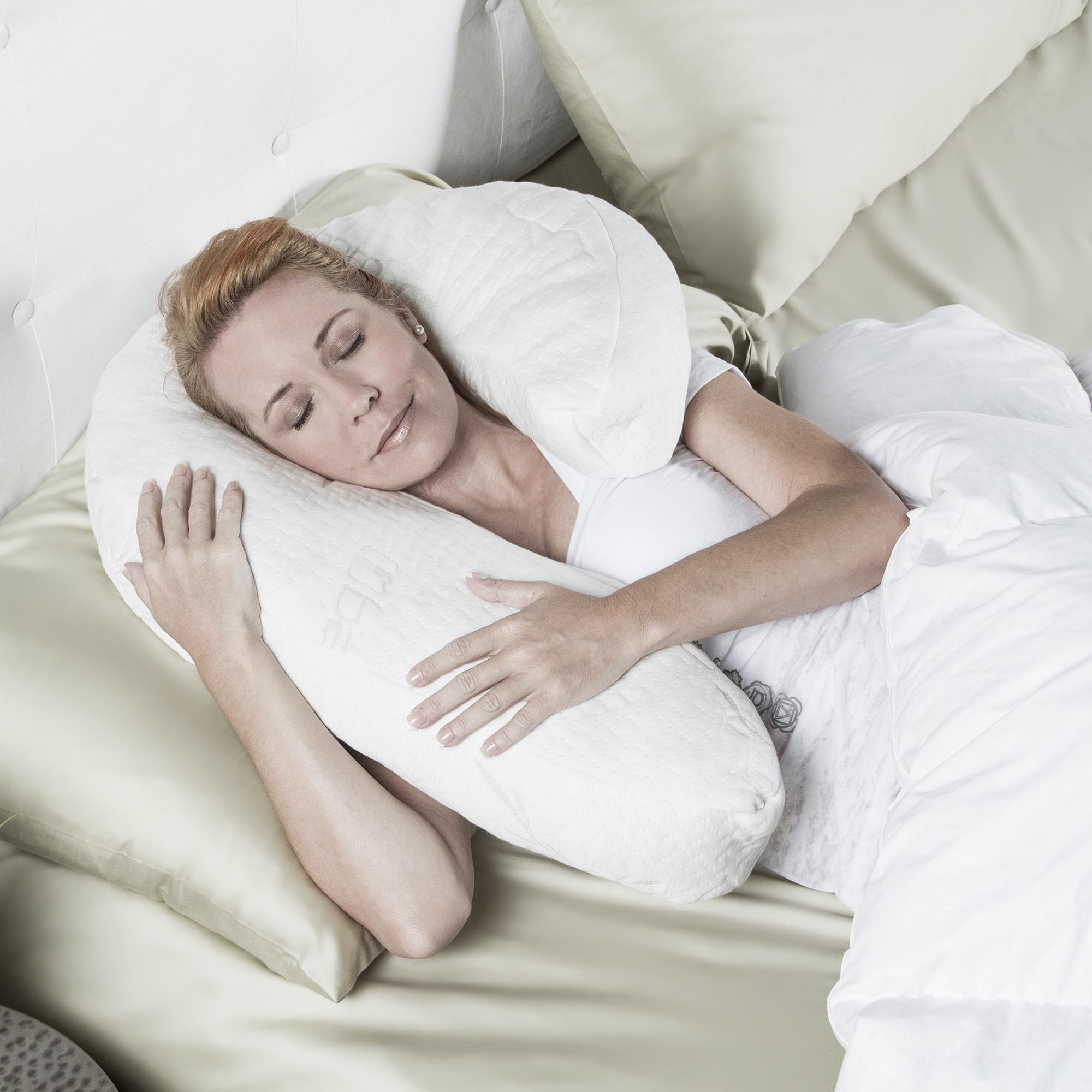 Shop Avana Uno Side Sleeper Memory Foam Pillow With Rayon From
