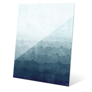 Ocean Gradient Storm Wall Art on Acrylic