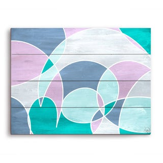 Stained Glass Window Wooden Wall Art