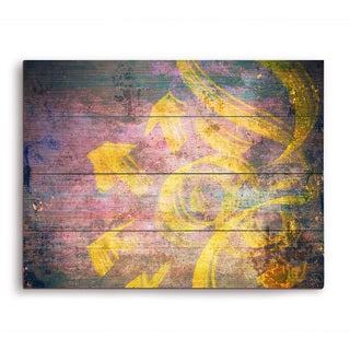 Exhale Wooden Wall Art