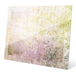 Chartreuse Graze Wall Art on Acrylic