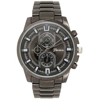 Olivia Pratt Women's Stainless Steel Genuine Classic 3-dial Watch
