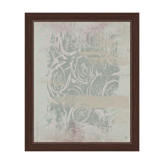 Passenger with Insight in Green Framed Canvas Wall Art