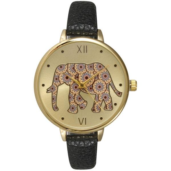 Shop olivia pratt women 39 s lovely elephant watch free - Watch the elephant in the living room ...