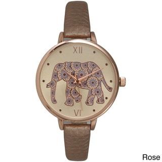 Olivia Pratt Women's Lovely Elephant Watch
