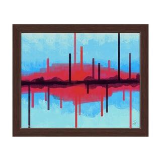 Cities Framed Canvas Wall Art