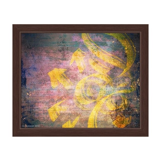 Exhale Framed Canvas Wall Art