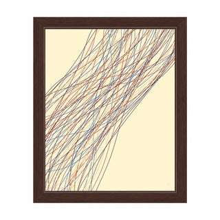 Tangle Connection Camp Framed Canvas Wall Art