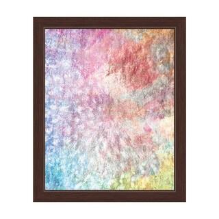 Lucid Spiral Framed Canvas Wall Art