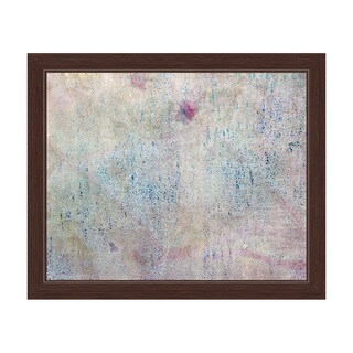 Azure Impression Framed Canvas Wall Art