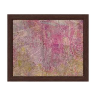 Cyclamen Weathering Framed Canvas Wall Art
