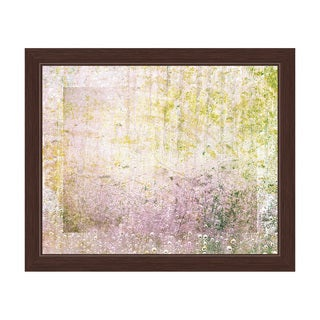 Chartreuse Graze Framed Canvas Wall Art