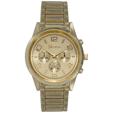 Olivia Pratt Women's Basic Stainless Steel Stylish Watch