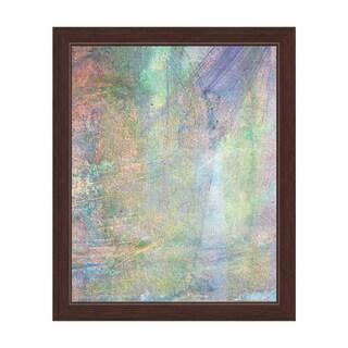 Brisk Brushstrokes Framed Canvas Wall Art