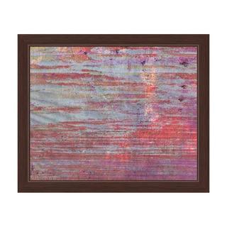Cyclamen Reeds Framed Canvas Wall Art