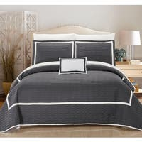Copper Grove Ocala Grey Quilt 8-piece Set