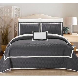 Copper Grove Ocala Grey Quilt 8-piece Set