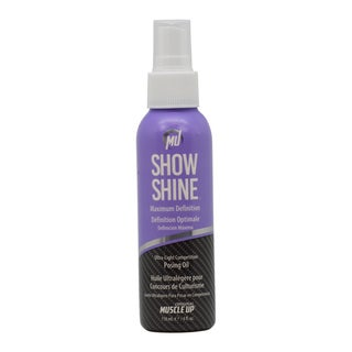 Pro Tan Show Shine Maximum Definition 4-ounce Ultra-Light Competition Posing Oil