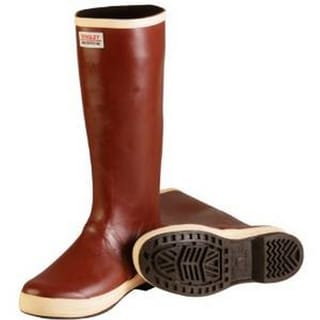 Tingley MB926B Snugleg Brick Red Neoprene/Rubber 16-Inch Plain-toe Boots