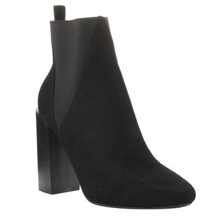 Cape Robbin GD76 Women's Chelsea-style Pull-on Stacked Heel Ankle Booties