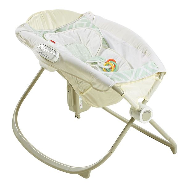 Shop Fisher-Price Deluxe Newborn Auto Rock  n Play Sleeper with Smart  Connect - Free Shipping Today - Overstock - 12360561 0b729d781