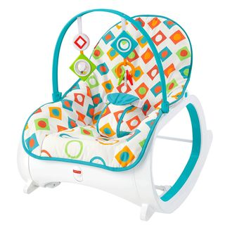Fisher-Price Geo Diamonds Infant-to-Toddler Rocker