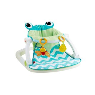 Fisher-Price Citrus Frog Sit-Me-Up Floor Seat