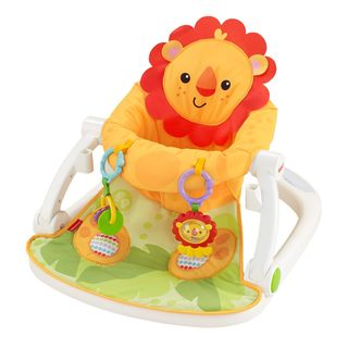 Fisher-Price Lion Sit-Me-Up Floor Seat with Tray