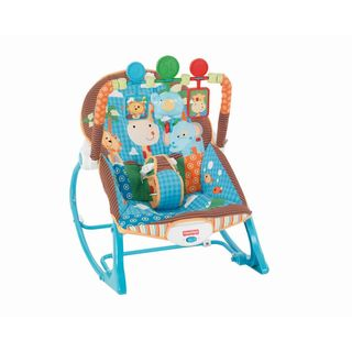 Fisher-Price Jungle Fun Infant-to-Toddler Rocker